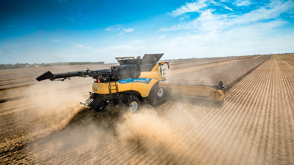 Bigger is better for New Holland's rotary combine range