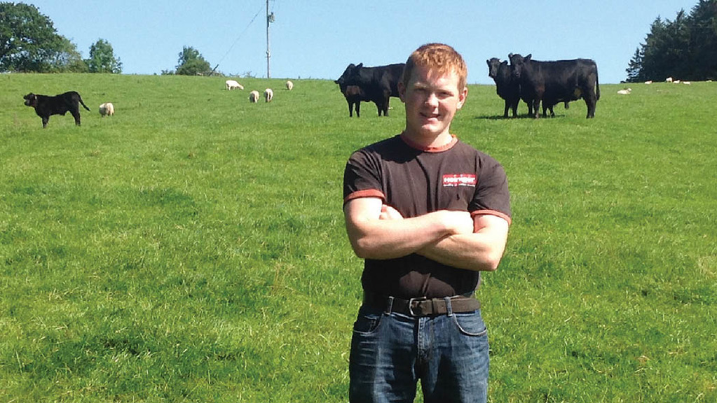 "Young farmer focus on Dafydd Davies: ""I believe in trying out new ideas. I'm not afraid to gamble"""