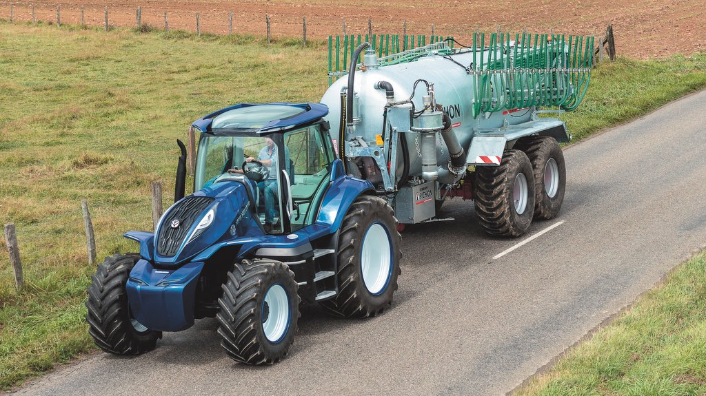 New Holland creates future tractor concept