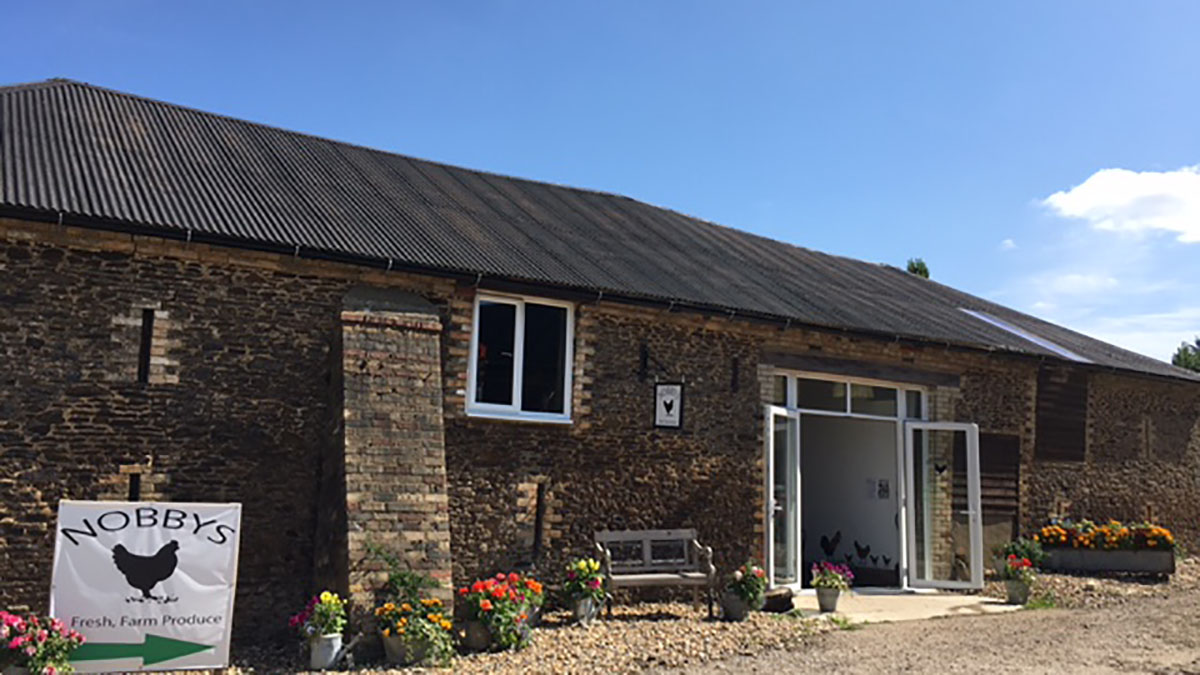 Inspirational story of farming couple who set up shop in neglected barn