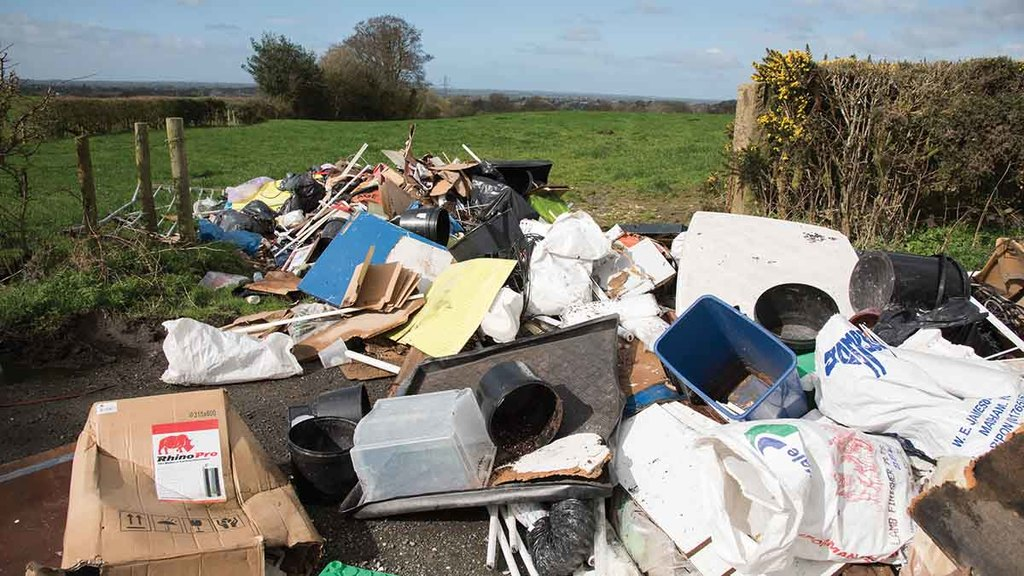 Rural groups warn farmers to be 'vigilant' as lockdown triggers surge in fly-tipping