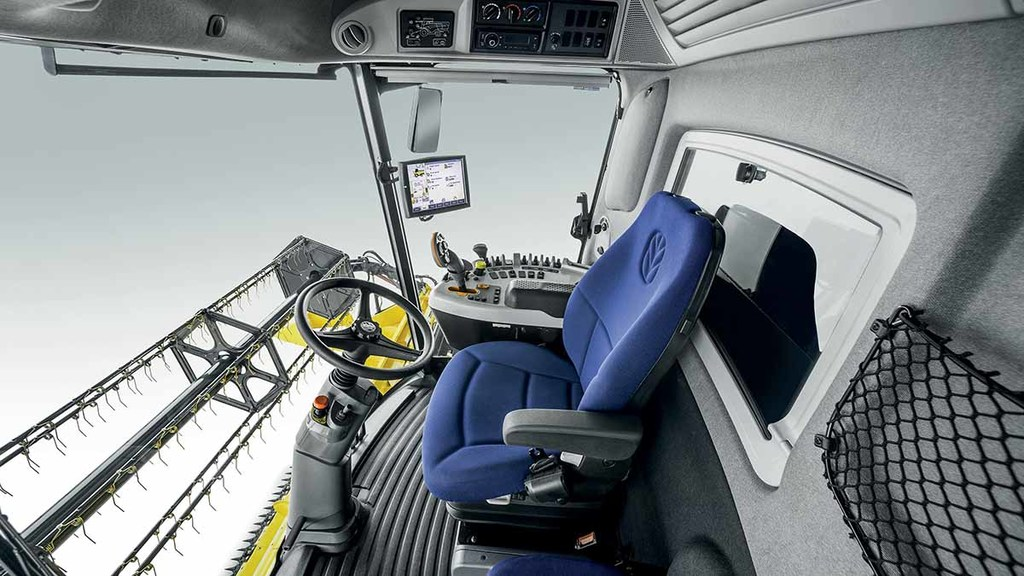 CX Series cab is now 20cm wider and features similar controls to its larger CR combines.