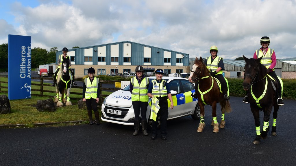 Mounted volunteers take on rural crime in the Ribble Valley