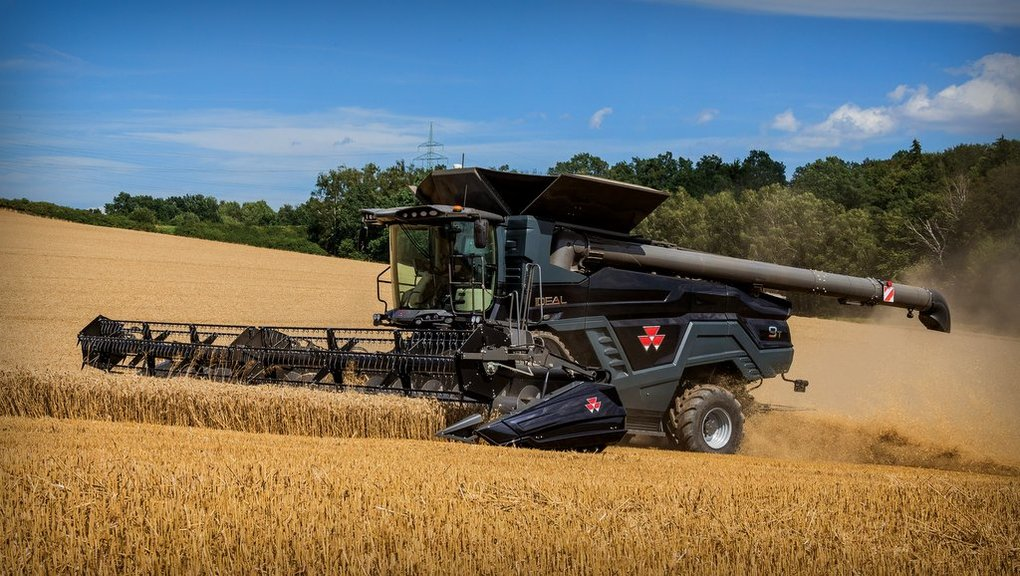 Agco aiming big with new Ideal combine
