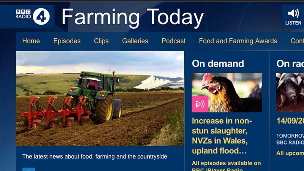 BBC allowed to drop programmes on farming as Ofcom relaxes rules