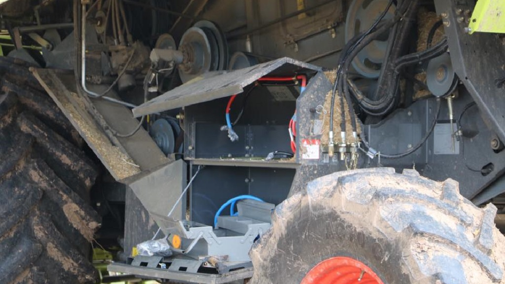 Farmer warns of battery thieves after three combines targeted in same night