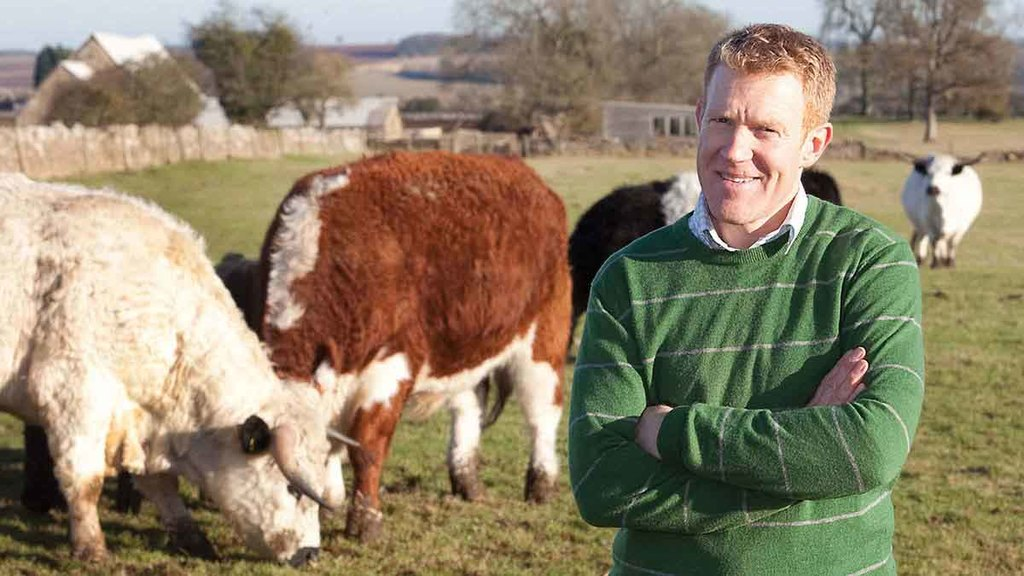 Adam Henson challenges public to eat only food they can trace for one week