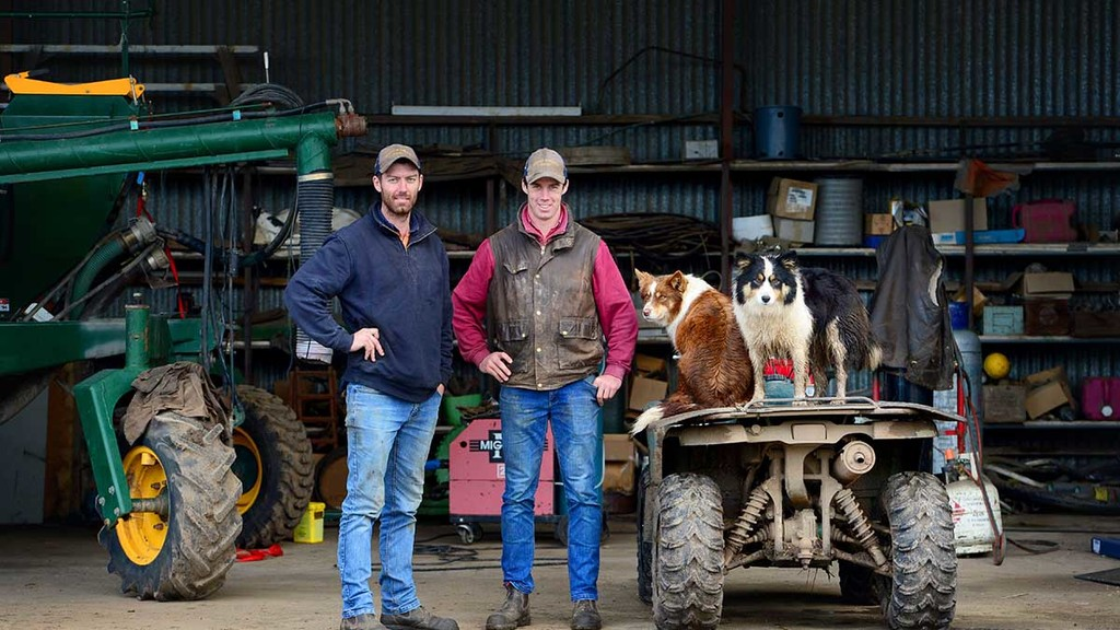 Australian young farmers work together to tackle harsh farming climate