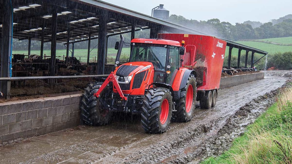 Greg Mountford's Zetor Crystal had big boots to fill, replacing a 10-year-old John Deere 7530.