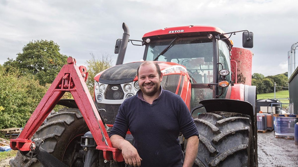Greg Mountford is pleased with the performance of his Zetor Crystal 160.