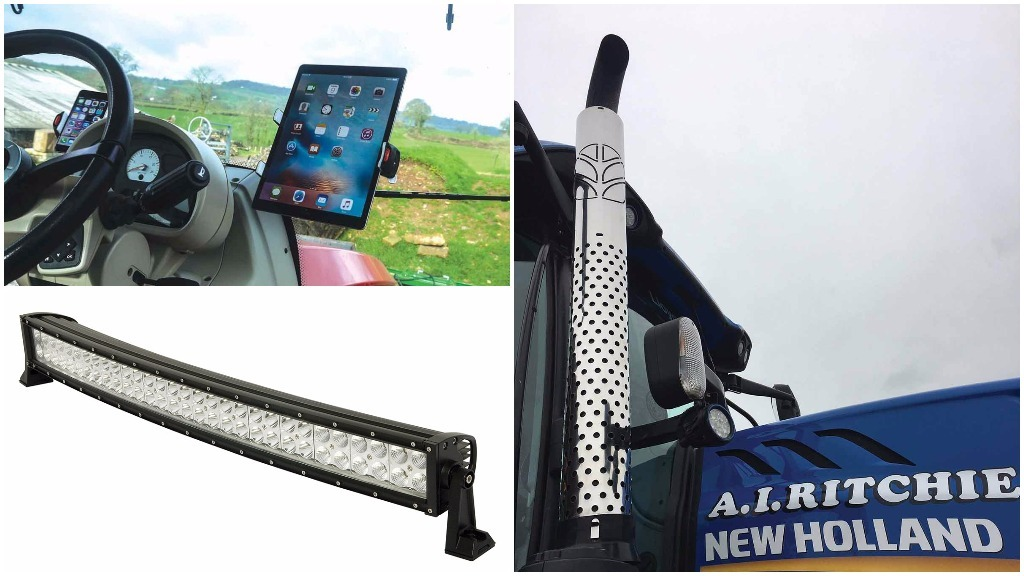 Picked up a new tractor? Here's 8 handy accessories...
