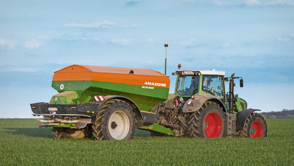 Additional technology for Amazone spreaders and sprayers