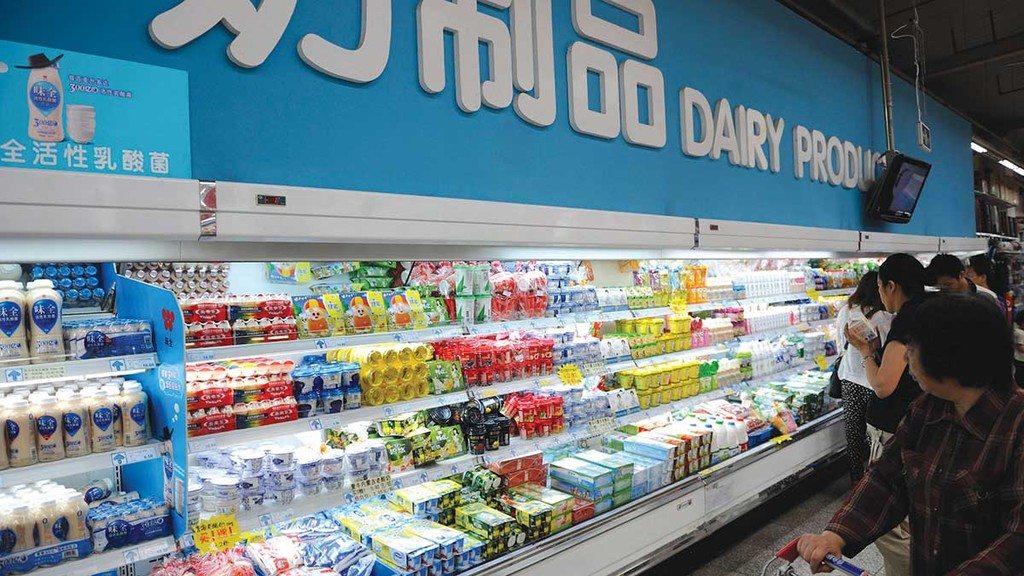 Chinese demand balances dairy prices