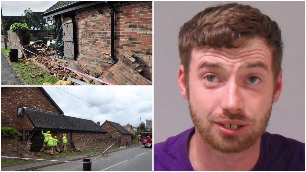 JAILED: Herdsman causes £47,000 worth of damage after crashing tractor into house