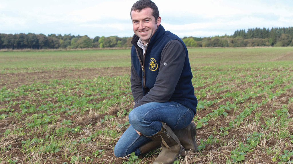 Talking arable with Neil MacLeod: 'Tired of listening to the rain battering off my bedroom window'
