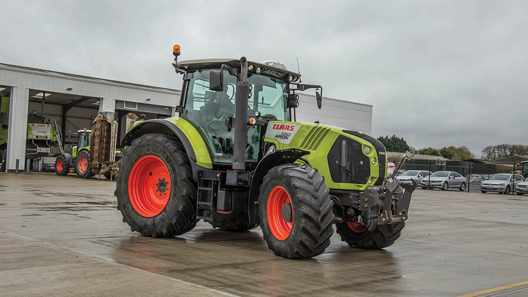 By far the best-selling Claas Arion type A36 has been the 650.