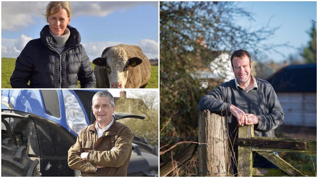 Meet the contenders for the NFU's new top team