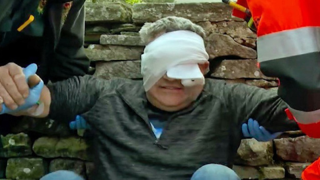 'Giving up is definitely not an option' - farmer blinded in one eye after freak accident