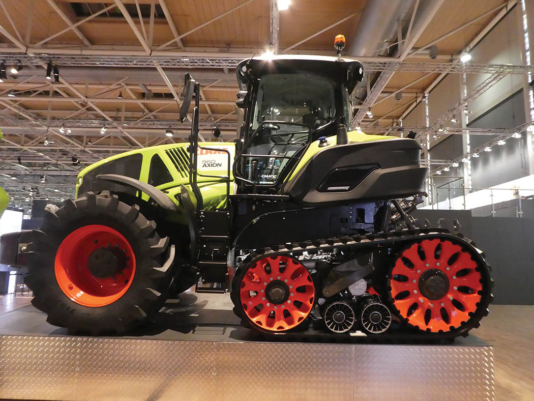 Claas Terra Trac developments