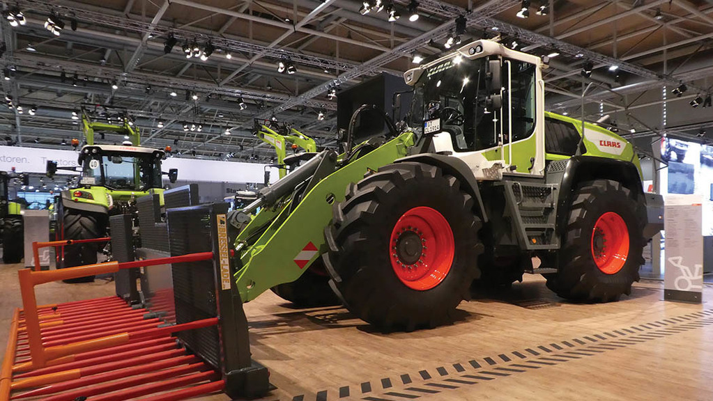 Claas Torion wheeled loaders
