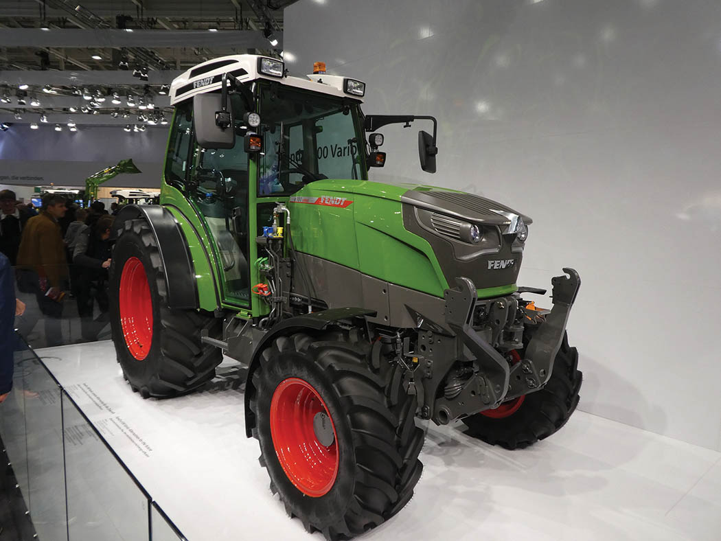 Fendt electric tractor