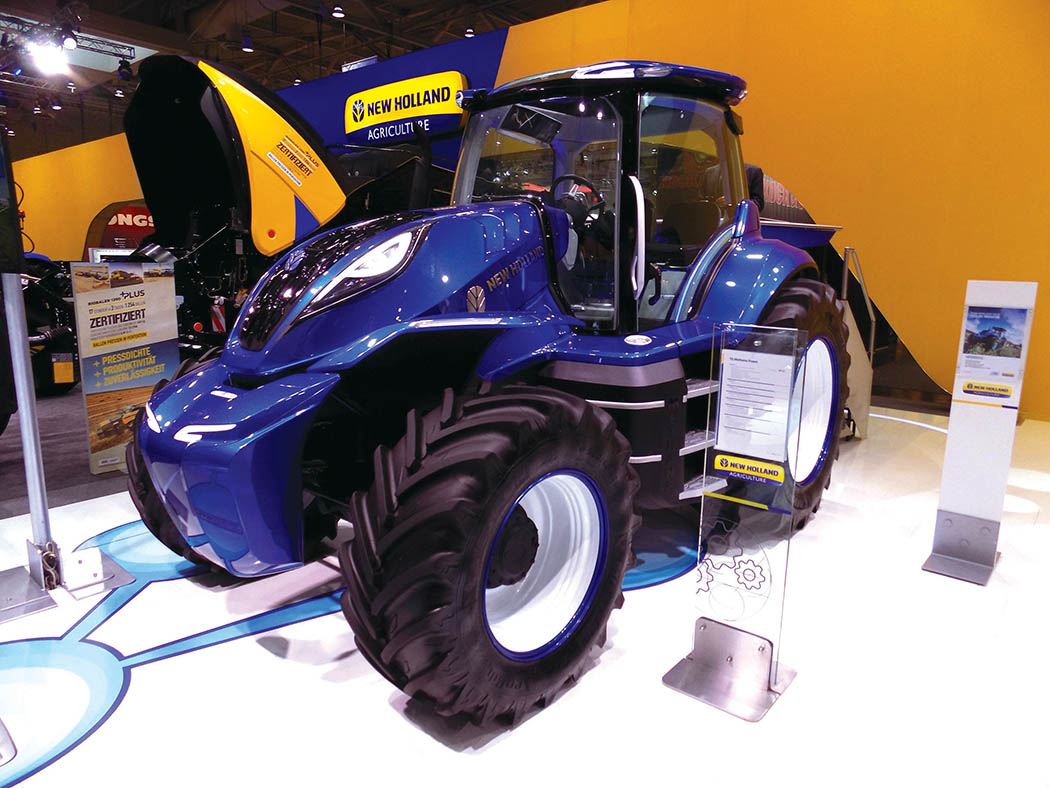 New Holland future tractor concept