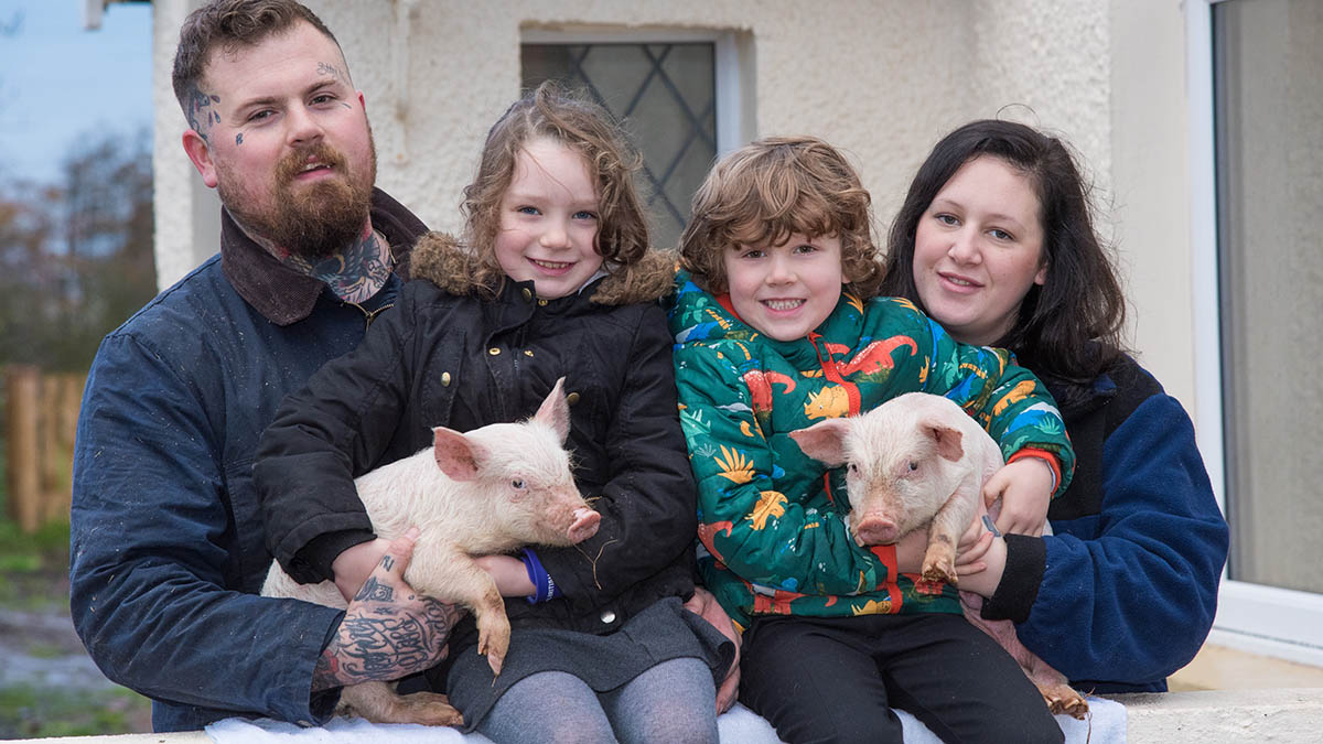 The Tattooed Farmers: Using creative flair to enter the meat market