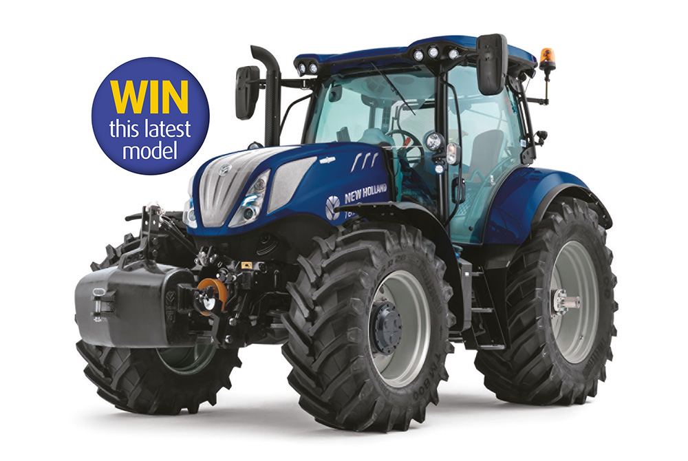 Win the use of an exclusive New Holland T6 tractor for a year!