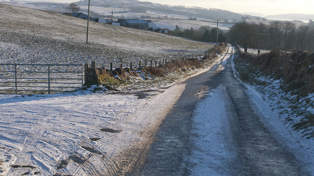 Driving on rural roads: How to stay safe as temperatures drop