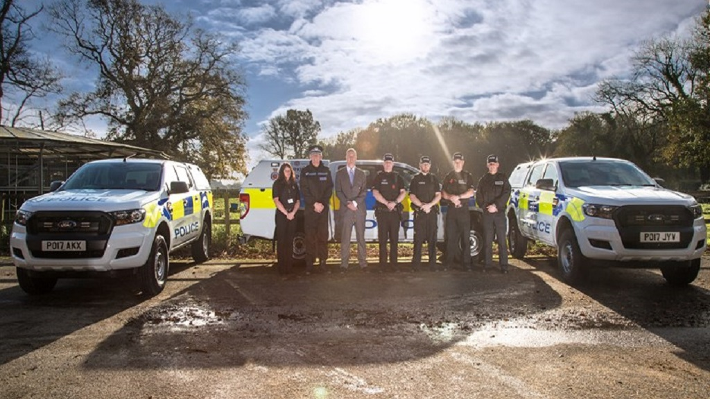 New 4x4 police vehicles rolled out to help tackle rural crime