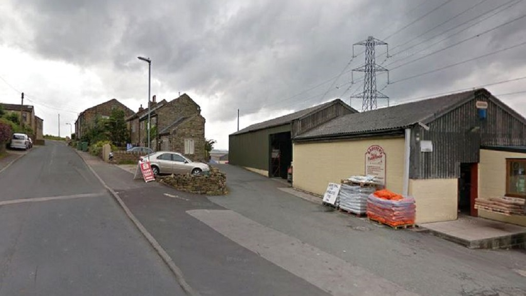 Burglar crashes stolen quad bike into wall after being chased by farmer and son