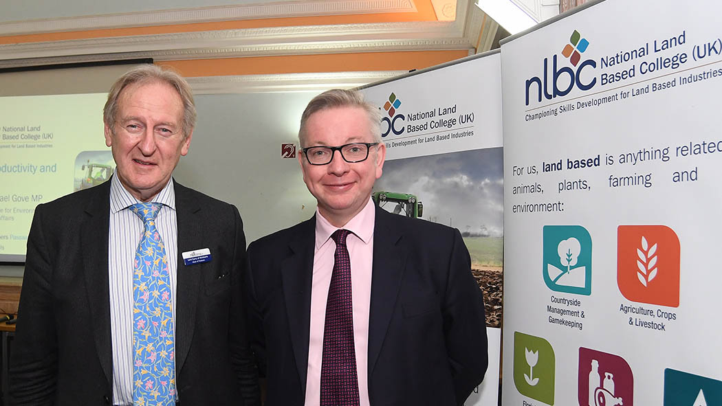 Michael Gove calls for funding to be handed to land-based skills