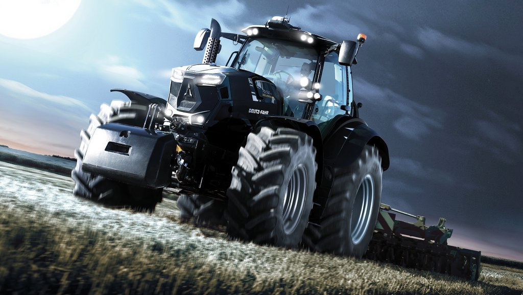 Back In Black Deutz Fahr Reveals Limited Edition 7 And 9