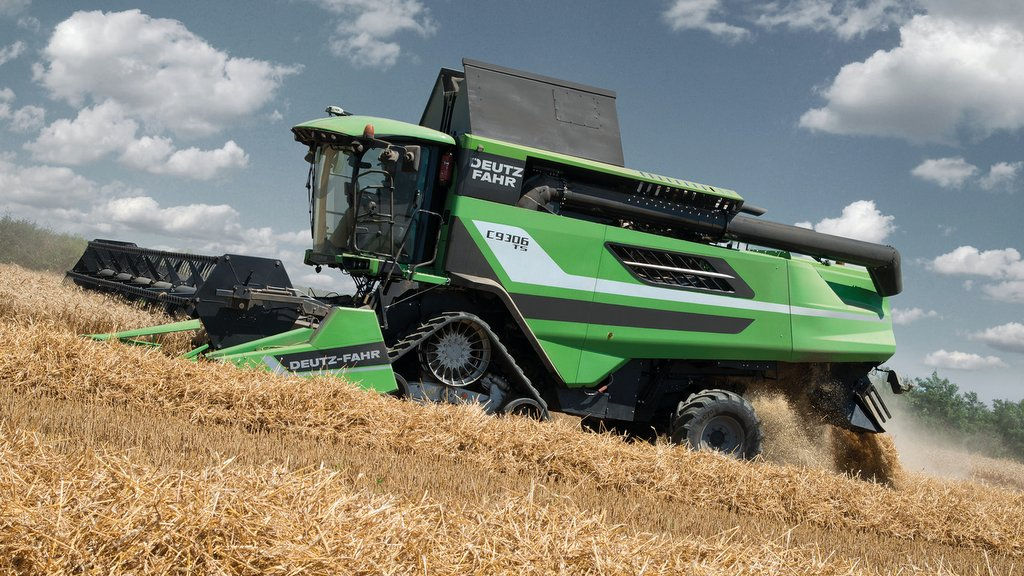 Deutz-Fahr updates its flagship C9000 Series combines