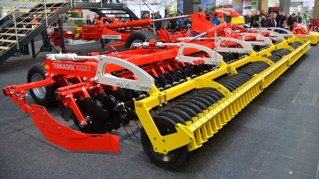 Agritechnica 2017: Drills and cultivator developments