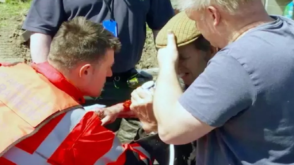 'I was losing a lot of blood' - farmer seriously injured in freak accident
