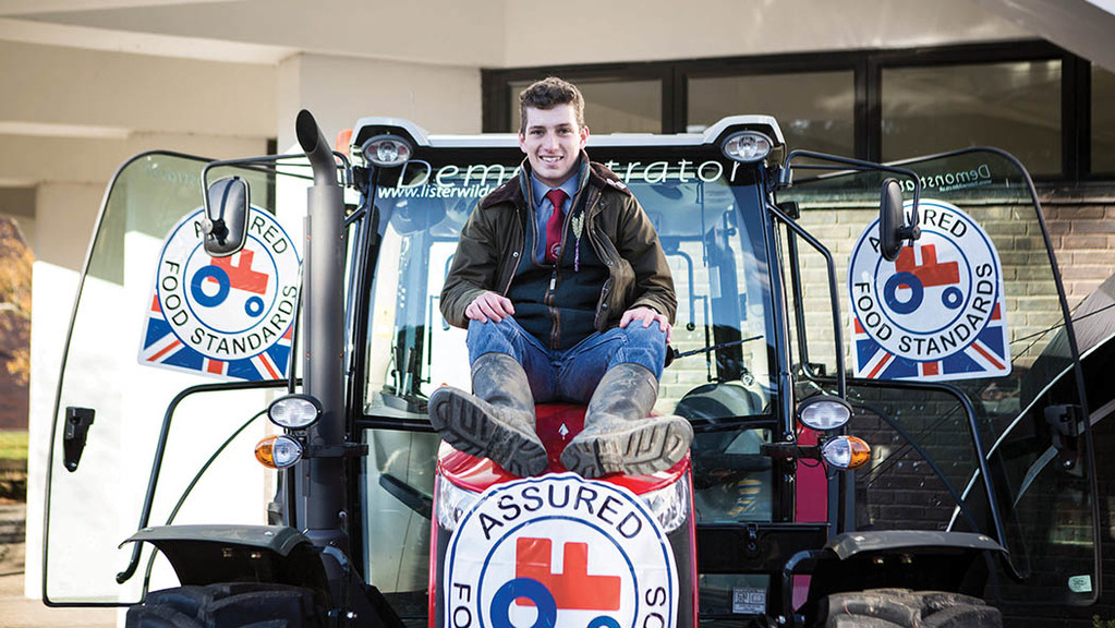 Young farmer focus: Luke Cox - 'I hope others will follow our Back British day'