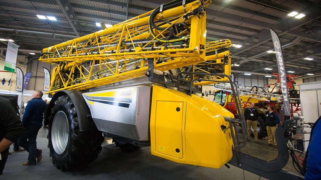 Trailed sprayer updates