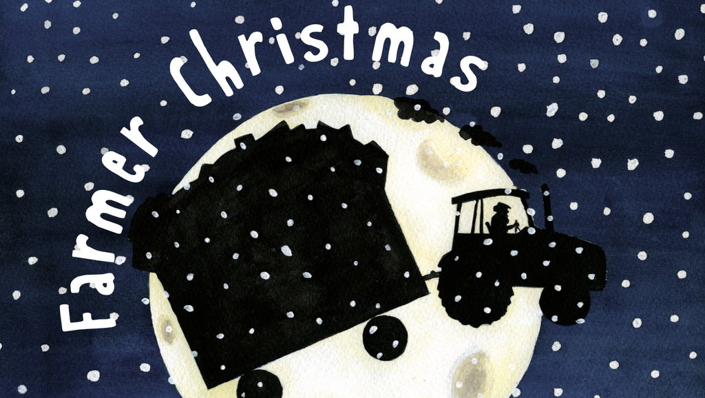 """Farmer Christmas"" children's book brings good old-fashioned festive spirit back to the community"