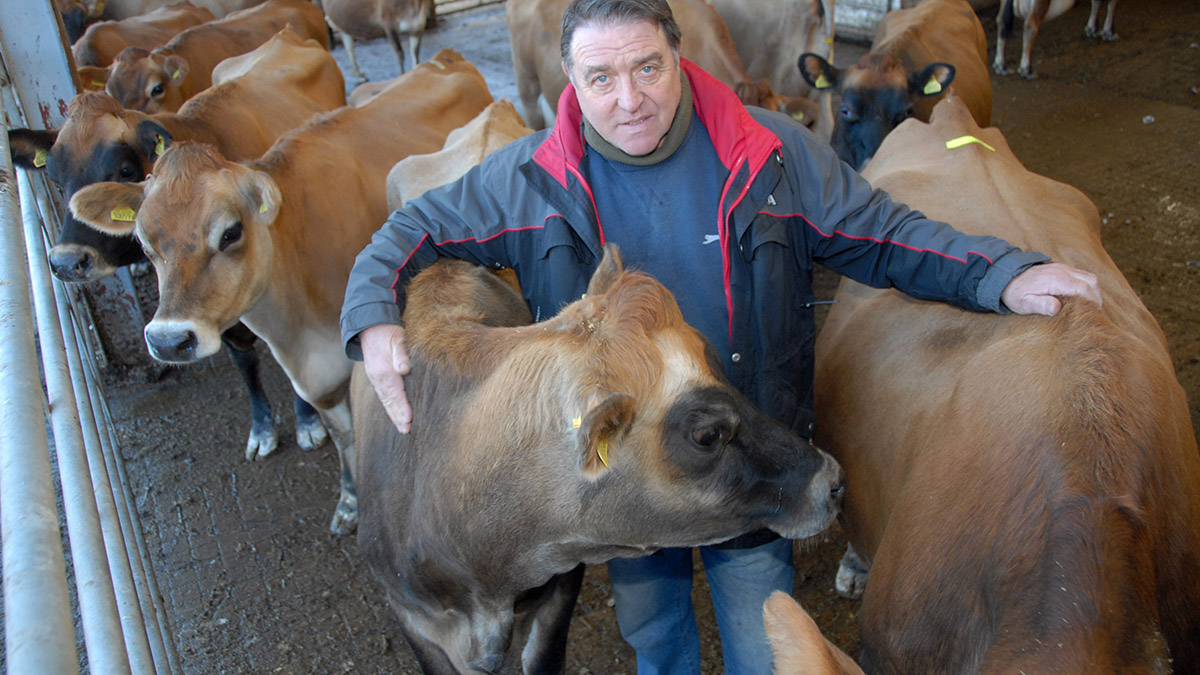 Herts dairy farmer Charlie Wray said he will fight against the plans.