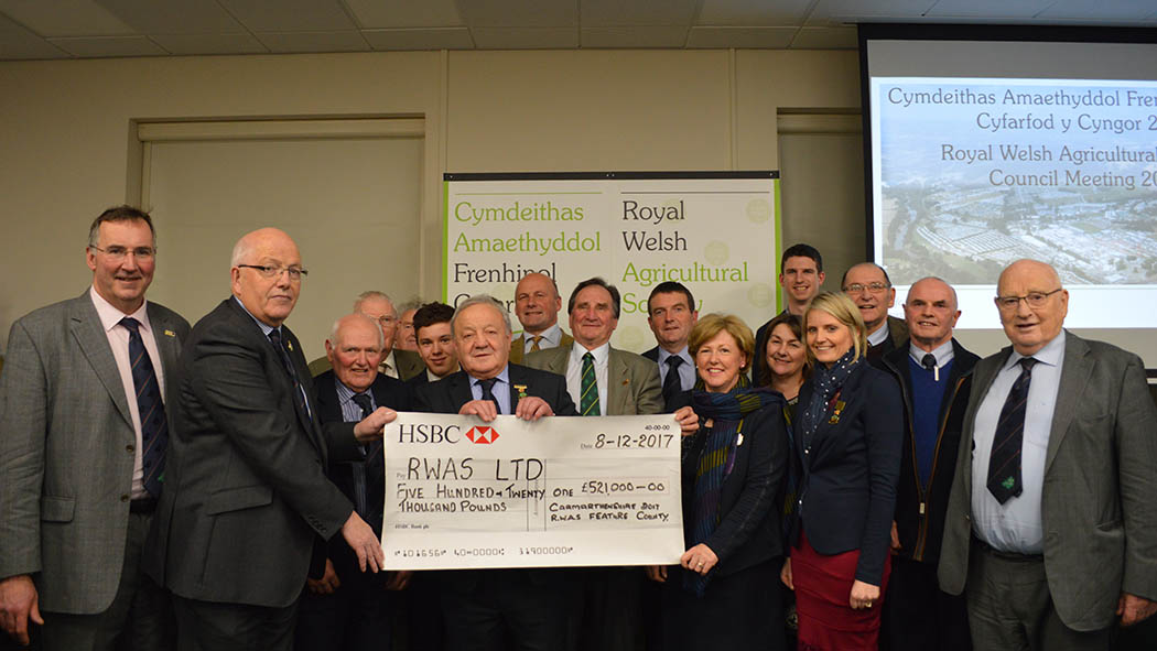 Carmarthenshire raises £521,000 as Royal Welsh feature county