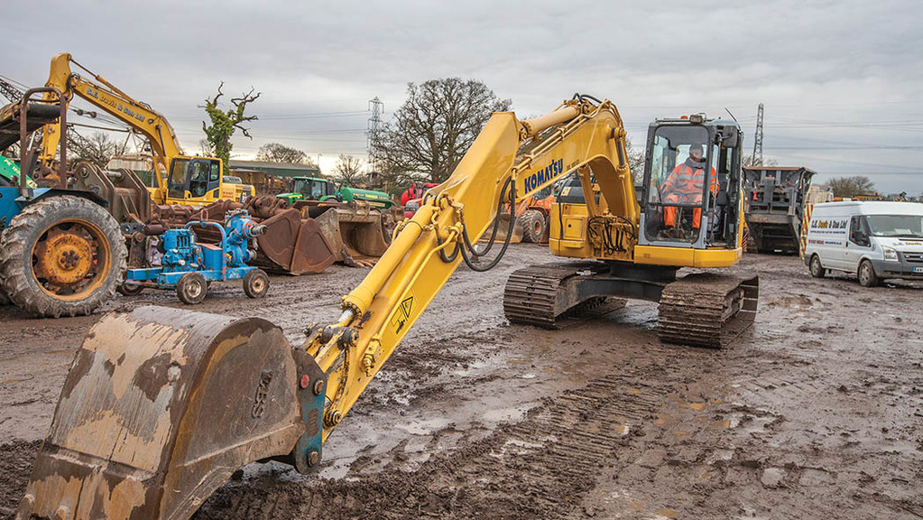 Buyer's guide: Fancy a Komatsu excavator for general farm use