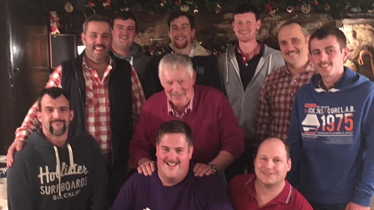 Young Farmers raise £3,500 through Movember shave for childrens cancer charity