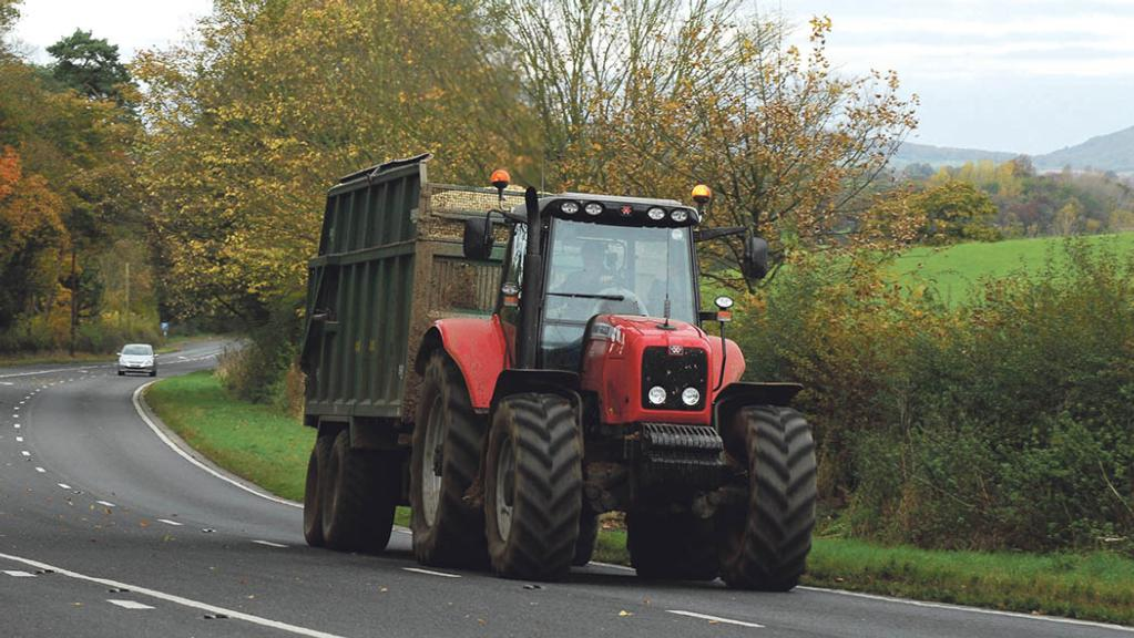 Anger as brand new dual carriageway bans farm vehicles