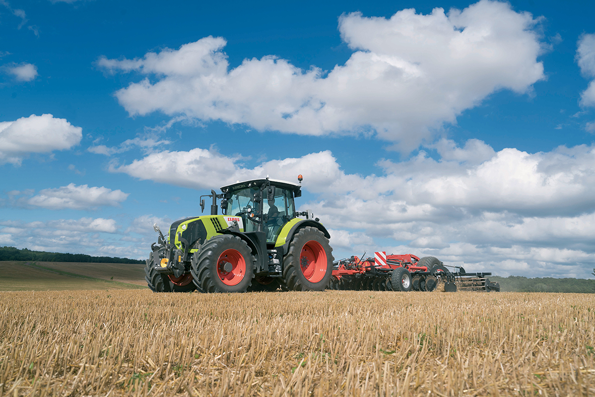 Claas, stand G1