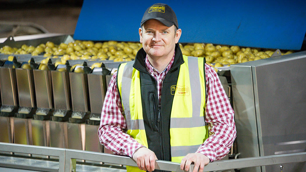 Talking potatoes with Rufus Pilgrim: Supply chain relationships