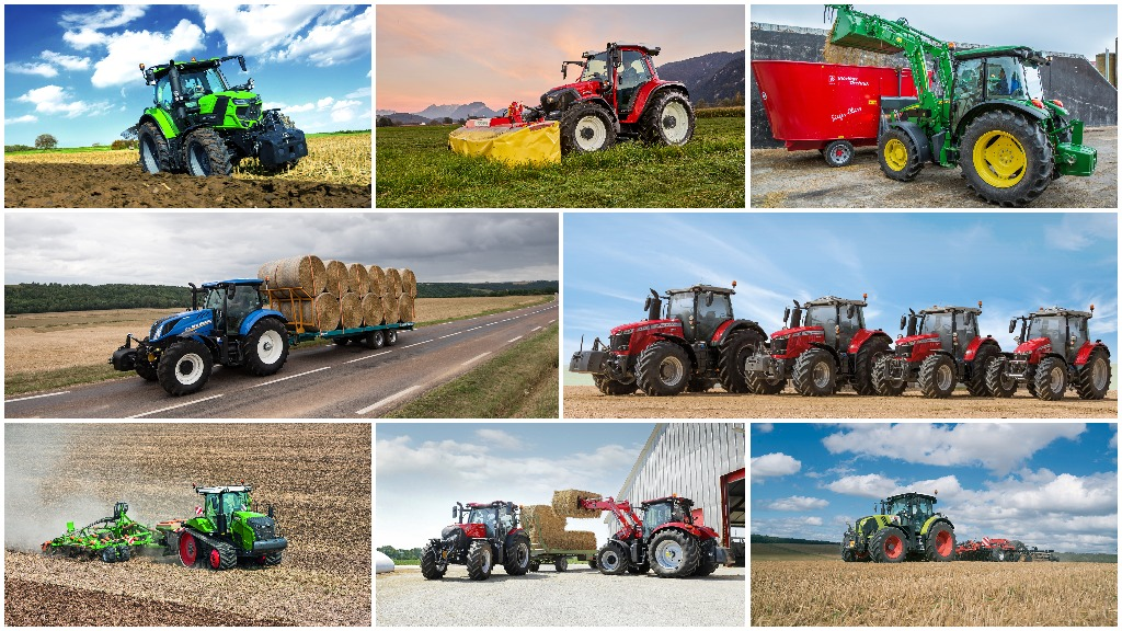 LAMMA SHOW 2018: Didn't make it this year? Join us on our tractor trail...