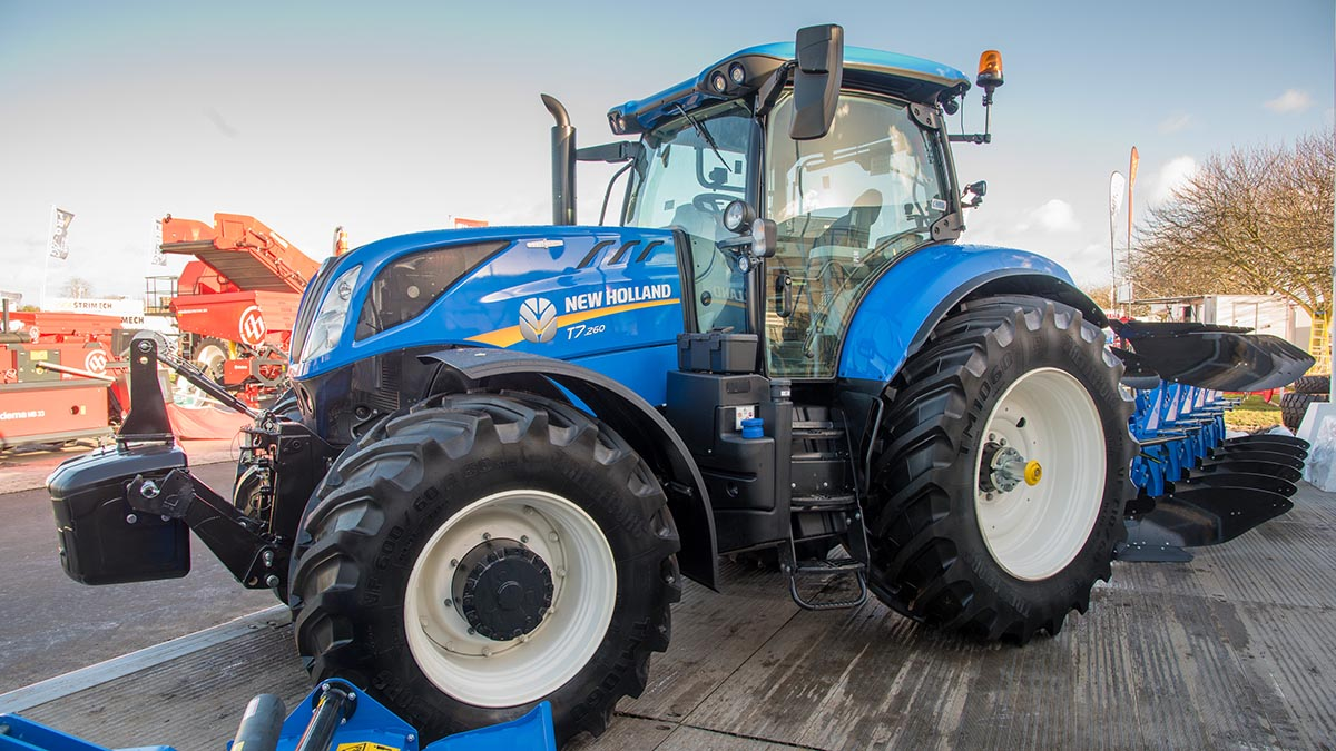 New Holland T7 tweaks