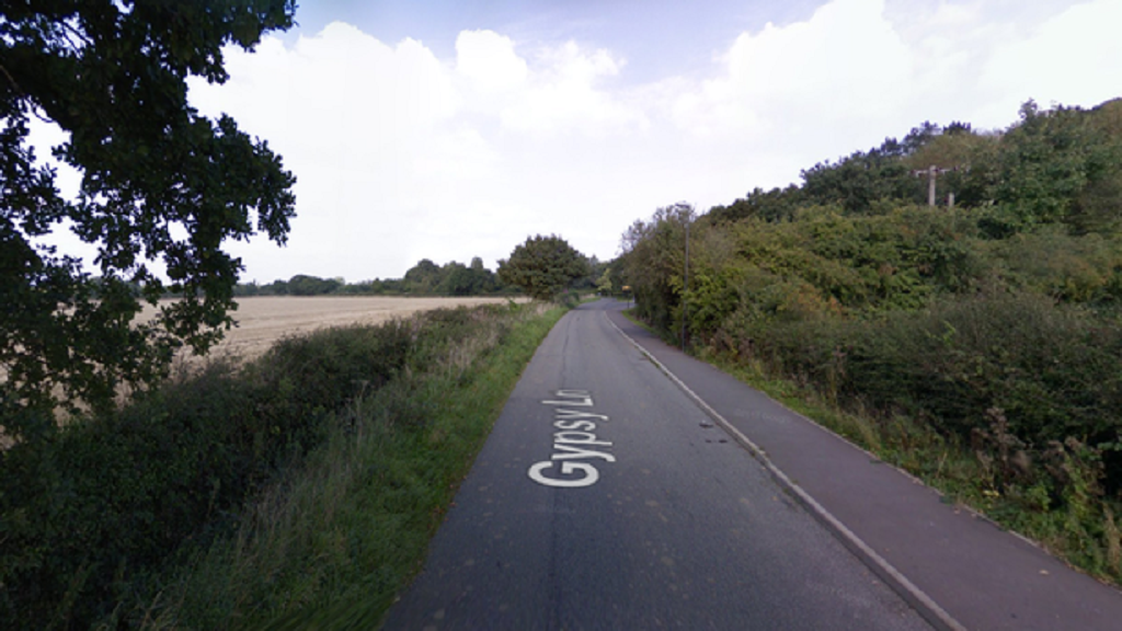 Johnson burgled the farm which is off Gypsy Lane in Draycott (Image: Google maps)