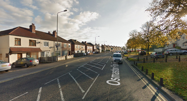 Johnson also fled from a collision in Osmaston Park Road, Derby (Image: Google maps)